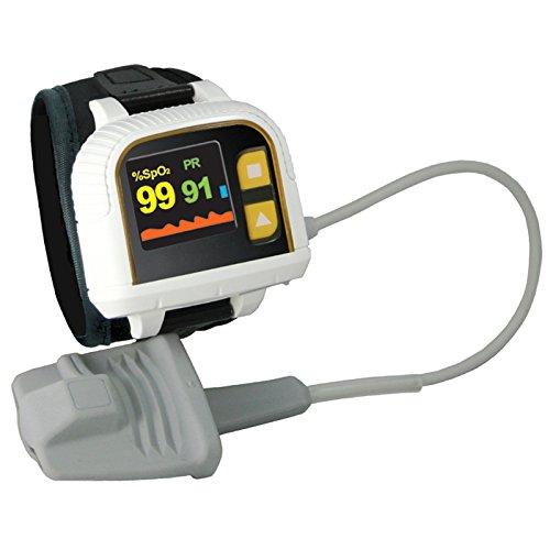 Heal Force Prince-100 H da polso stile ossimetro per dormire a...