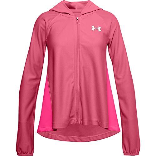 Under Armour Girls' Play Up Knit Full Zip T-Shirt