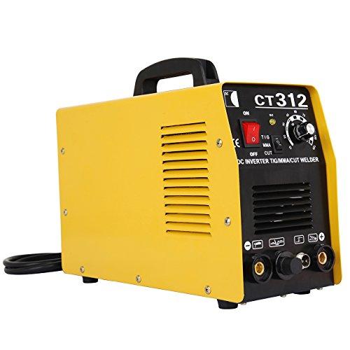 Ridgeyard 220V multifuncional 3 en 1 aire cortador de plasma inversor TIG soldador soldadura máquina de plasma TIG MMA corte