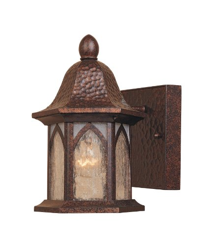 Designers Fountain 20601-BAC Berkshire Wall Lanterns, Burnished Antique Copper
