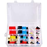 Toy Storage Organizer for Thomas & Friends Wood/ Motorized Toy Train Engines/ MINIS/ Motorized Toy Trains/ Trackmaster/ Play22 Wooden&Tiny Conductors Train Set and More Cars (Box Only)