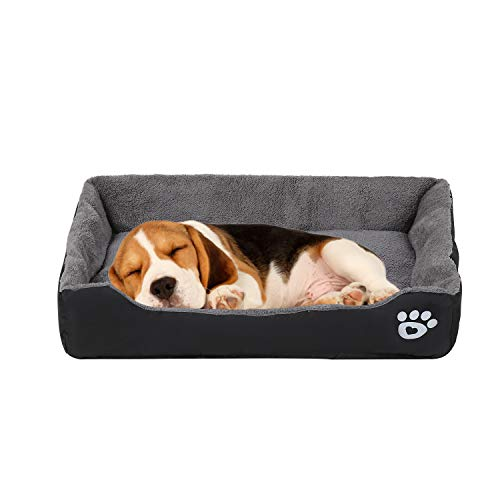 VICSPORT Dog Bed Pet Sleeping Cushions Warm Plush Sleep Beds for Dogs Cat Puppy -XL