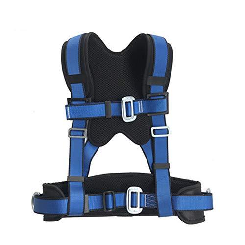 Arnés De Escalada, Arnés De Seguridad para Medio Cuerpo Comodidad Seguridad para Deportes Al Aire Libre para Montañismo Escalada Rescate En Descenso Trabajos Aéreos