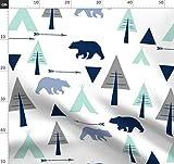 Bär, Zelten, Draußen, Tipi, Wandern, Bären, Bäume