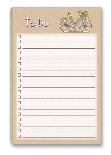 To Do List Notepad with Magnet - 8.5' x 5.5' - 50...