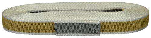 Corderie Italiane 006000839 riem voor rolluiken, kleur beige/grijs, uit Rafia 22 mm, 5,5 m
