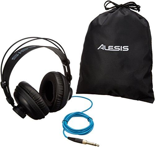 Alesis SRP100 - Auriculares de estudio de referencia profesional para monitoreo de mezclas y producciones musicales