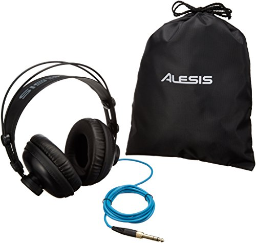 Alesis SRP100 | Studio Reference Headphones Providing Rich/Detailed Acoustics for Professional Monitoring and General Playback