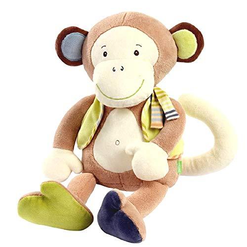 Babysun - doudou assis singe monkey donkey