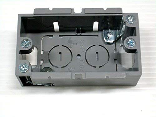 未来工業 パネルボックス (あと付はさみボックス) 1ケ用 SBP 単品