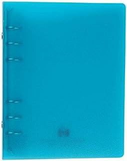 エトランジェディコスタリカ バインダー バイブル 6穴 透明PP 水色 TRP-07-07