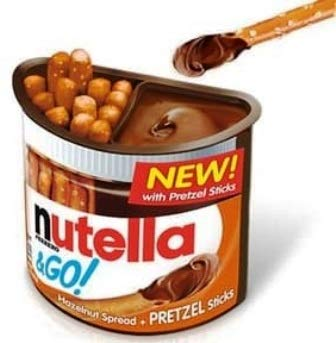 Max 83% OFF NUTELLA GO 12CT PRETZEL Popular brand in the world