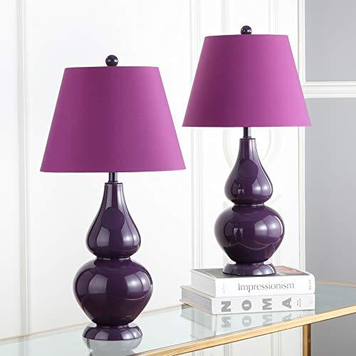 cute purple lamps