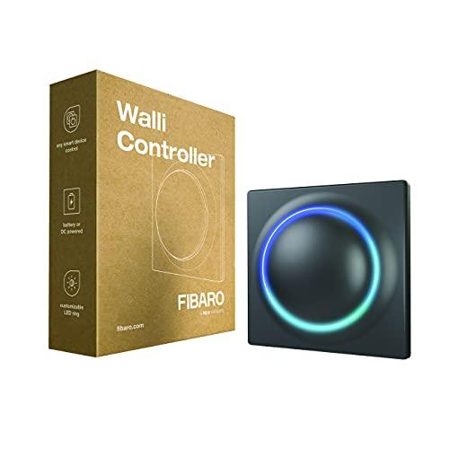 FIBARO Walli FGWCEU-201-8 Z-Wave Plus - Mando a distancia (funciona con pilas), color gris