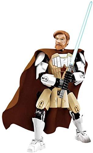 Minifigura de Star Wars para Construir Stormtrooper Dark Vader Kylo REN chew108a Boba Jango Fett Juguete de figurita de luto General para niño-OBI WAN