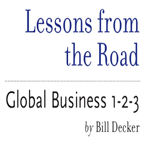 Lessons from the Road audiobook cover art