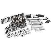 149-Pieces Husky 1/4 Inch 3/8 Inch and 1/2 Inch Drive Mechanics Tool Set