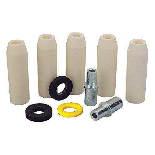 Skat Blast Medium Ceramic Nozzle Combo Pack for Skat Blast Power Siphon Sandblasting Guns, Made in USA, 6300-60