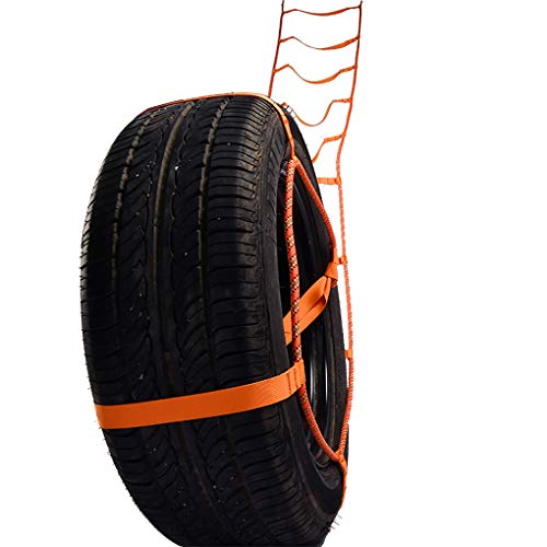 Guangcailun Universal neumático de tracción Escalera de Cuerda al Aire Libre para Barro y Nieve Rueda del Coche de tracción Escapar Secure Venda de la Correa