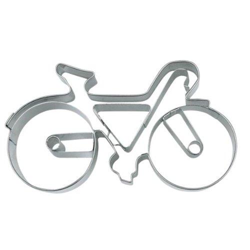 Staedter Bicicleta de Carretera o Bicicleta, diseño de Galletas, Plata, 9cm