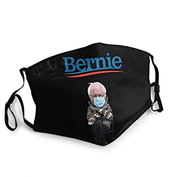 Bernie Sanders Balaclava Black Reusable Face Masks Breathable Adult Mouth Cover Decorative