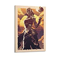 ゲームポスターValorant Razeキャンバスポスター寝室の装飾スポーツ風景オフィスルームの装飾ギフトキャンバスポスター壁アートの装飾リビングルームの寝室の装飾のための絵画の印刷 08x12inch(20x30cm)