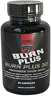 Burn Plus 365 (60 Capsules) -Weight Loss/Fat Burner - Natural Supplement for Losing Weight - Boost Your Diet Performance Naturally - Help Lose Weight During Gym Fitness Exercise or Sports