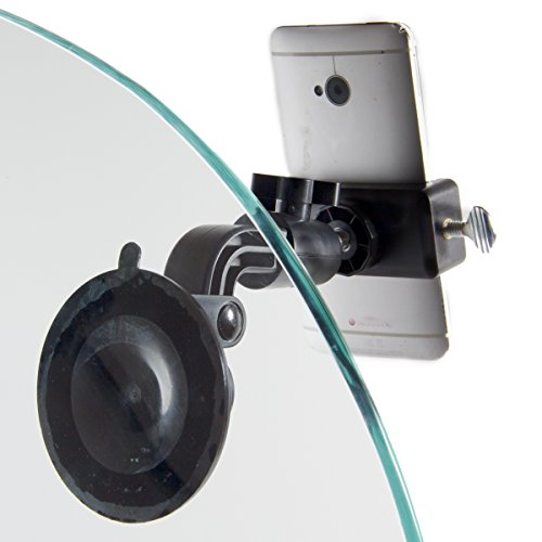 Livestream Gear - Glass Suction Mount for Phone, Perfect for Live Stream, -
