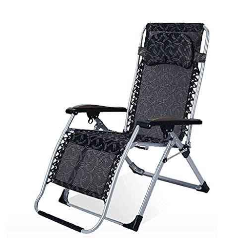 Terrassenfreizeit-Sonnenliegen Hochleistungs-Schwerelosigkeitsstühle, Sonnenliegen, Klappstuhl, Liegestühle, Liegestuhl, Superbreite 60 cm, Strandpatio-GCamping (Farbe: 4)