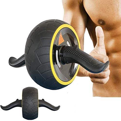 Attrezzature per il potenziamento addominale. Giant Wheel addominale Wheel Addome esercizio addominale Muscolo Roller addominale Formazione Rimbalzo gomma naturale, Colore: Rosso Sport attrezzature pe