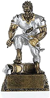 Frustrated Monster Golfer Trophy - Golfing Beast Award - 6.5 Inch Tall Golf Trophy - Engraved Plate on Request