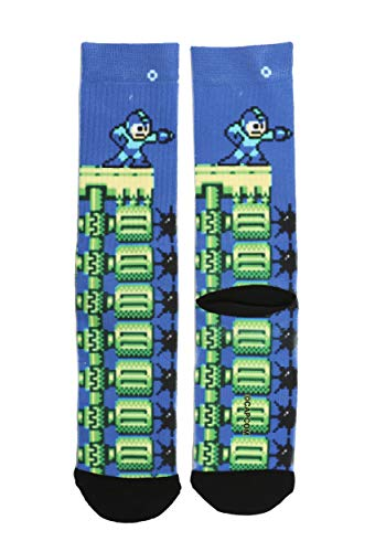 Bioworld Merchandising / Independent Sales Capcom Mega Man Sublimated Socks Standard