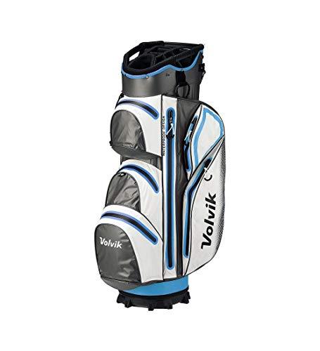Volvik Vibe Imperméable Sac de Golf - Blanc/Bleu/Gris, One...