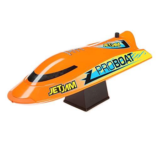 "Pro Boat Jet Jam 12"" Pool Racer Brushed RTR, Orange, PRB08031T1"