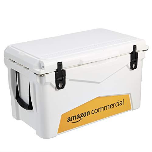 AmazonCommercial Rotomolded Cooler, 45 Quart, White