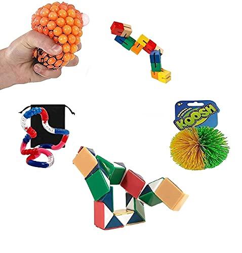 Fidget Stress Relief Sensory Hand Dexterity Toys...