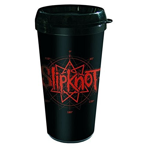 Empire Merchandising 698506 Slipknot Logo Termo plástico Vaso de Viaj
