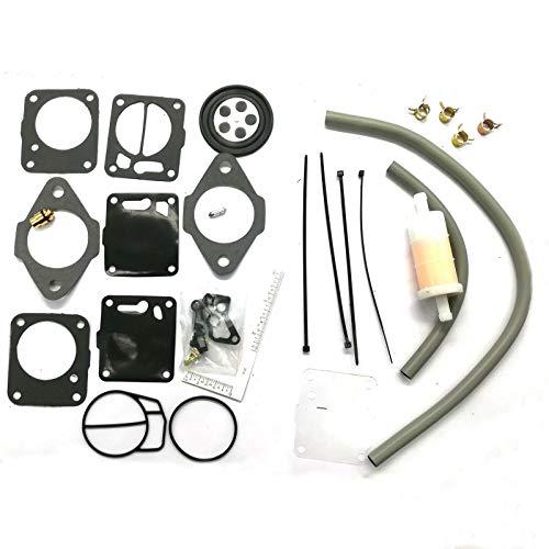 Carburador kit de reconstrucción-aguja/asiento de base de juntas for Yamaha MUCHOS Wave Runner VXR Raider III GP 700 701 650 Carburadores