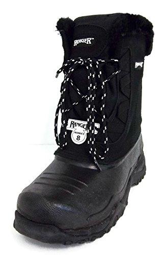 Norcross Ranger Womens A629 Sparrow Snow Boot Black (7)