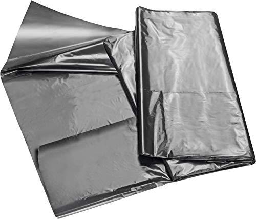 Connex Beetfolie 10 x 1,2 m - 20 my - PE - schwarz - Speichert Bodenwärme & Feuchtigkeit - Verhindert Unkrautwachstum - Unterstützt den Reifeprozess / Beet-Abdeckung / Gartenfolie / FLOR80260