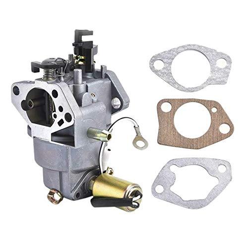 QIUXIANG Segadora carburador carbohidratos en Forma for el MTD Cub Cadet CC760ES 12AE76JU 951-05149 HY-4P90F (Color : Silver)
