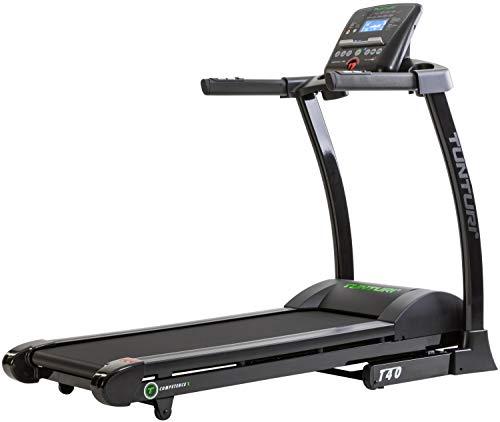 Tunturi T40 Treadmill Compentence Unisex-Adult, Nero/Grigio, Taglia Unica