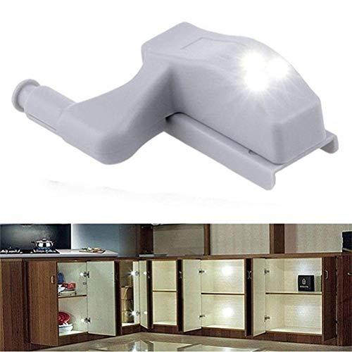 Einsgut universele kast kast kast kast kledingkast LED scharnier sensor licht voor kast kast kast kast keuken nachtlicht scharnieren ON/Off nachtlampje