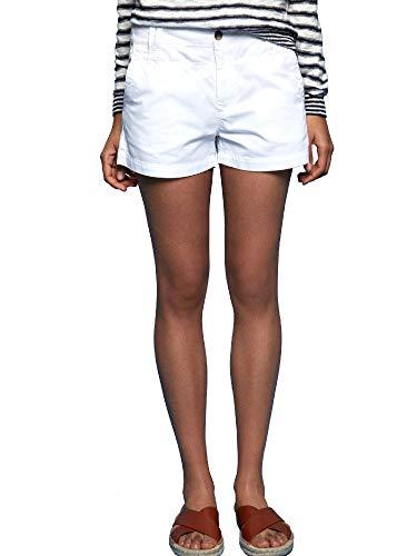 Pepe Jeans Balboa Short Pantaloncini da Bagno, Bianco (Canvas White 810), W24 (Taglia Produttore: 24) Donna