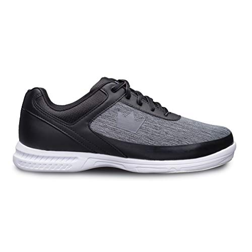 Brunswick Bowling Products Mens Frenzy Static Bowling Shoes- Wideblack/Grey 10.5 E US, Black/Gray, 10.5W