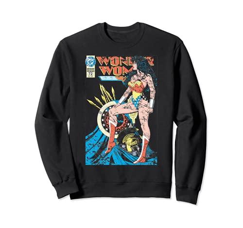 US DC Wonder Woman Cover WW55 Piernas - Oscuro Sudadera