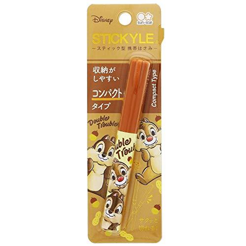 サンスター文具 ディズニー 携帯 はさみ スティッキール コンパクト チップとデール S3718158