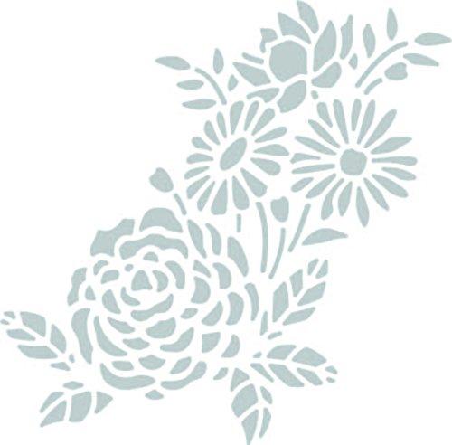 Sizzix 662862 Fustelle Thinlits-Stencil Botanico, Acciaio, Multicolore, 26x13x0.2 cm