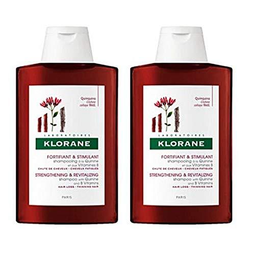Eucerin Klorane Duplo Champu Quinina 400 ml, Cedar, 900 Gramo