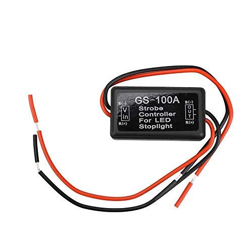 QKP Universal Strobe Controller Bremslicht Flasher Modul Blinkende Rücken Bremse Hinten Licht LED Flash Schwanz Stop Küche Zubehör